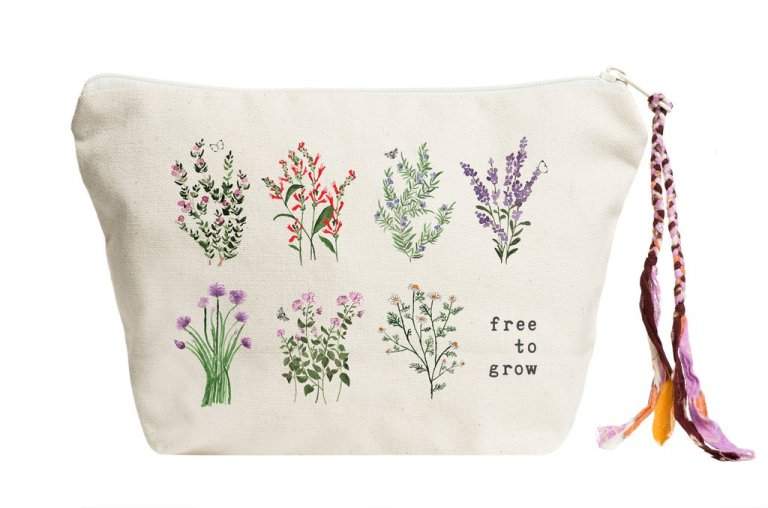 Free to Grow (Herb Edition) Pouch